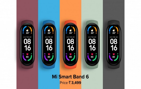 Xiaomi Mi Band 6 Launched In India
