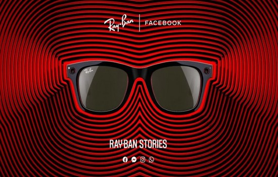 Facebook Ray Ban Stories Smart Glasses