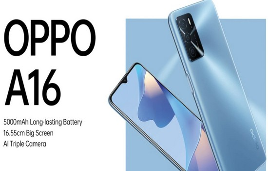Oppo A16 Features