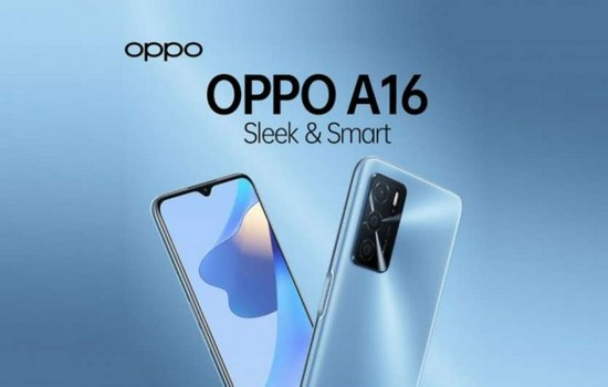 Oppo A16 Launched In India