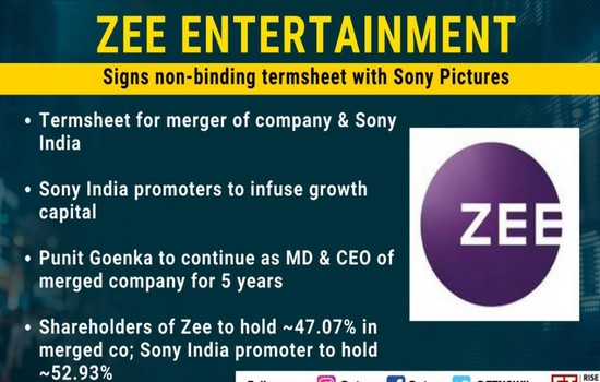 Zee & Sony Pictures Merging Together