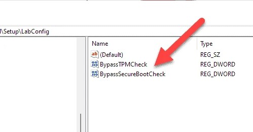 Bypass TPM Check